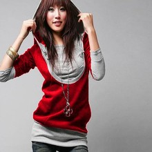 Hot Fashion Women Hoodies Sweatershirts Outerwear Ladies Coat Hody Garment Cotton Tops pullover 63(China (Mainland))