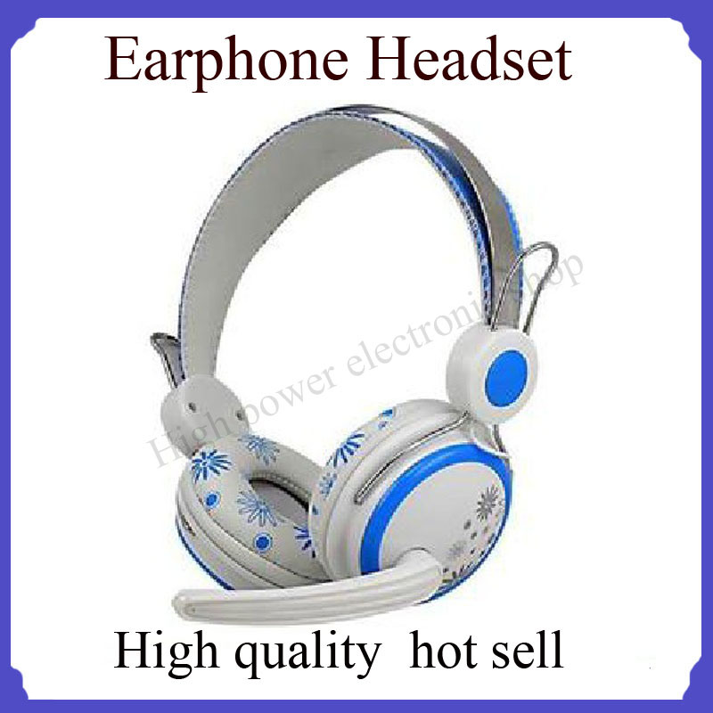 Headphones,computer HD headset for pc DVD GPS headset headphone computer headset(China (Mainland))