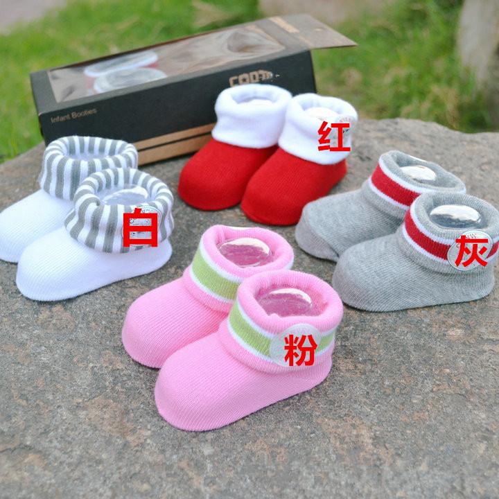 20pairs/lot 2014 HOT new 3D baby socks newborn child super cute warm baby socks Anti-slip Walking Child Outdoor Socks like Shoes<br><br>Aliexpress