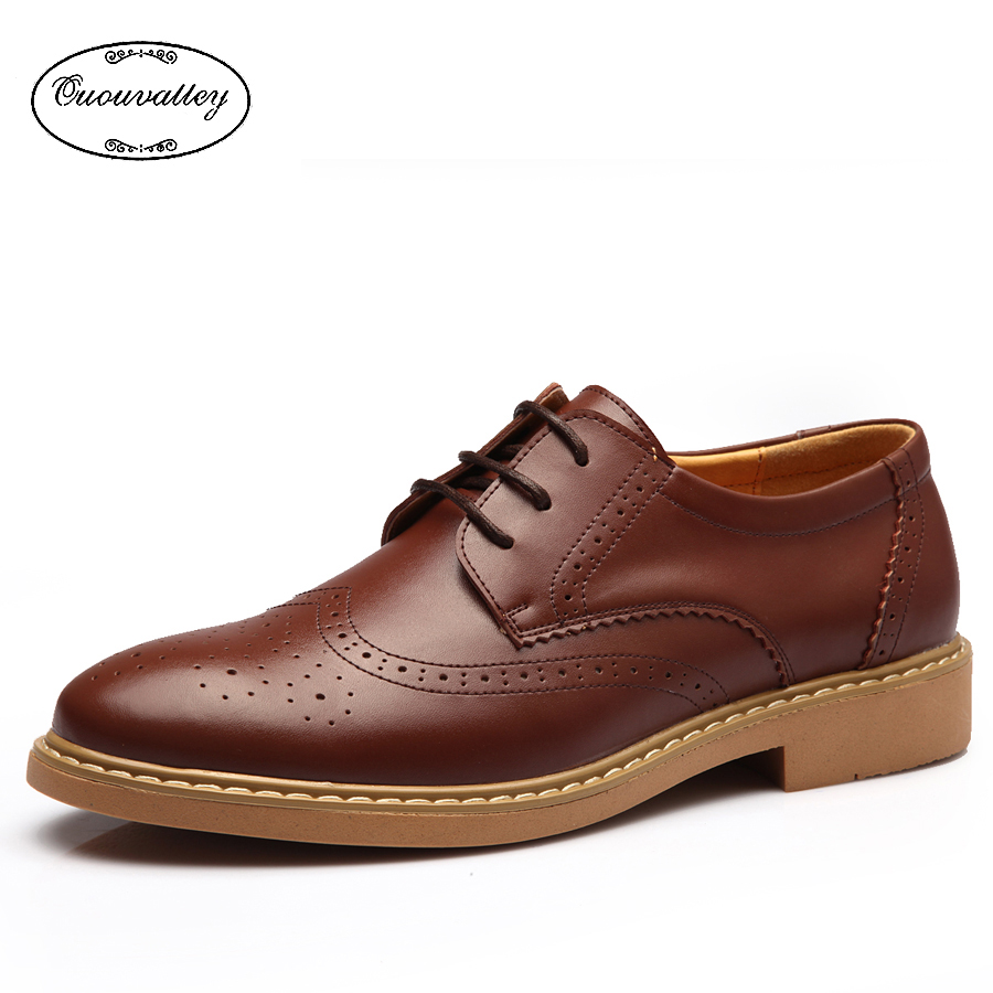 new 2016 flat shoes vintage carving brogue oxford