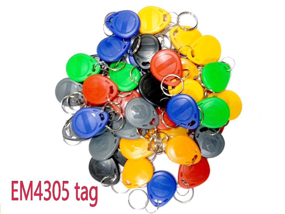100pcs/Lot EM4305 RFID Tag 125Khz Copy Rewritable Copy Card