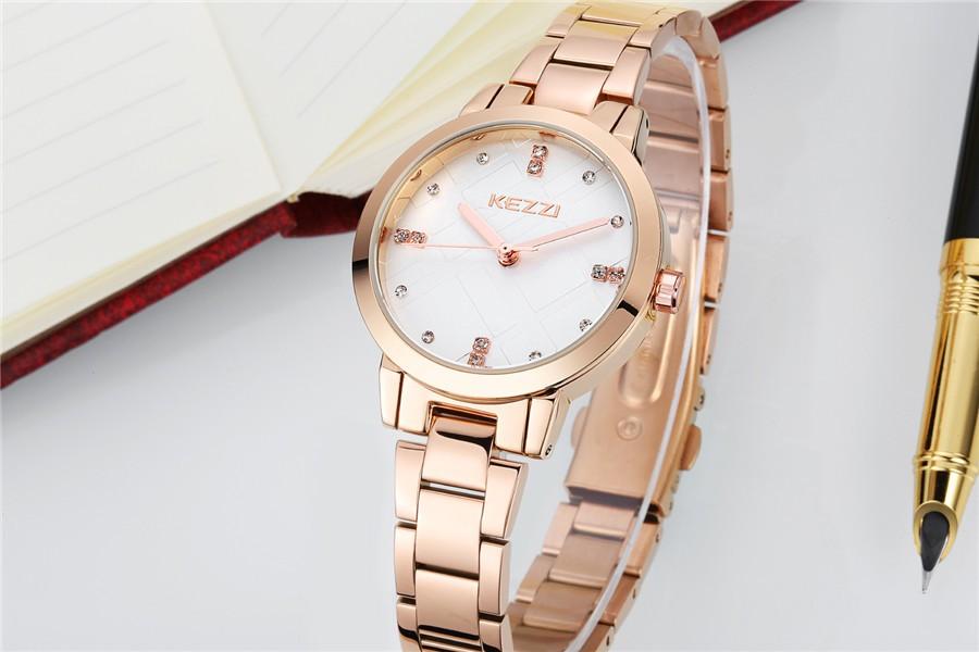2016 Новая Мода часы с бриллиантами специальный циферблат полный нержавеющей стали Кварцевые Часы Женщины Платье Часы Для Дам Лучший Подарок kw1130