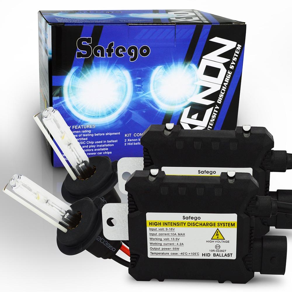 55W hid kit xenon H7 kit 55w H4 H1 H3 H8 H9 H10 H11 H13 880 881 H27 9004 HB3 9005 HB4 9006 hid conversion kit 4300K 6000K 8000K(China (Mainland))