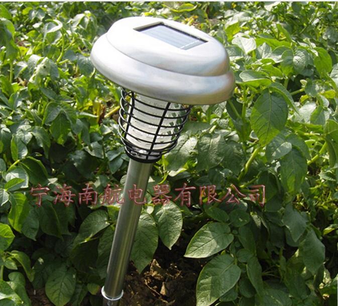 garden outdoor decoration nightlight solar led light stainless steel