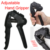 Gym Equipment Heavy Hand Grip Adjustable Strength Device Fitness Forearm Exerciser Workout Training