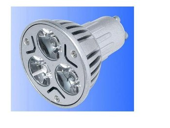 GU10 3*1W led spot light with 85 to 265V input