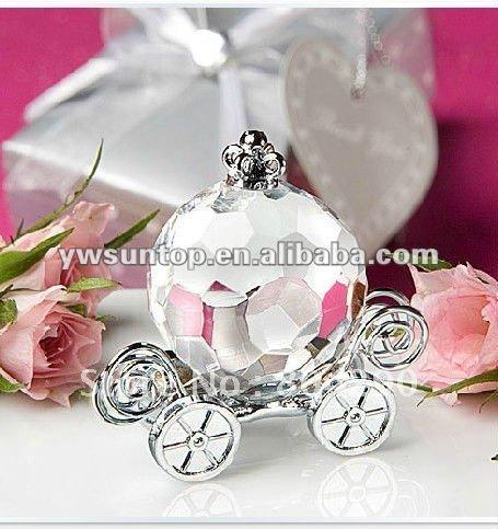 Cheap Crystal Crafts Collection Pumpkin Coach Wedding return favors(China (Mainland))