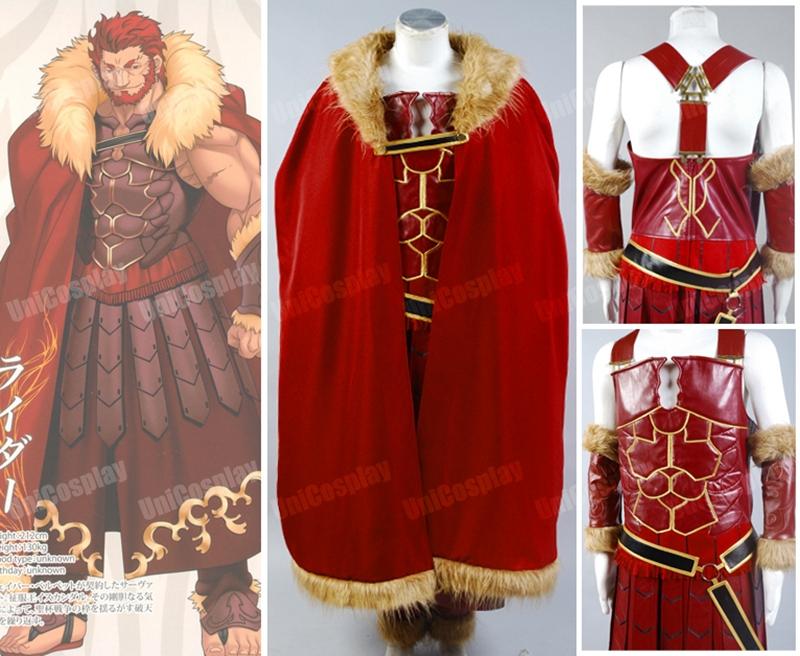 New FateZero Servant Rider Iskandar Cosplay CostumeОдежда и ак�е��уары<br><br><br>Aliexpress