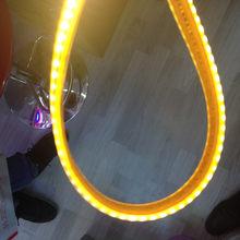 1 м 120 светодиодный SAMSUNG чип новые светодиодные полосы света SMD5630 гостиная ультра яркие AC220V ленты Светодиодные светильники IP65 Водонепроницае...(China)