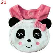 Infant Bibs NO. 21-40 Baby Bibs Burp Cloths Lunch Bibs Animals Cotton Waterproof Infant Bibs