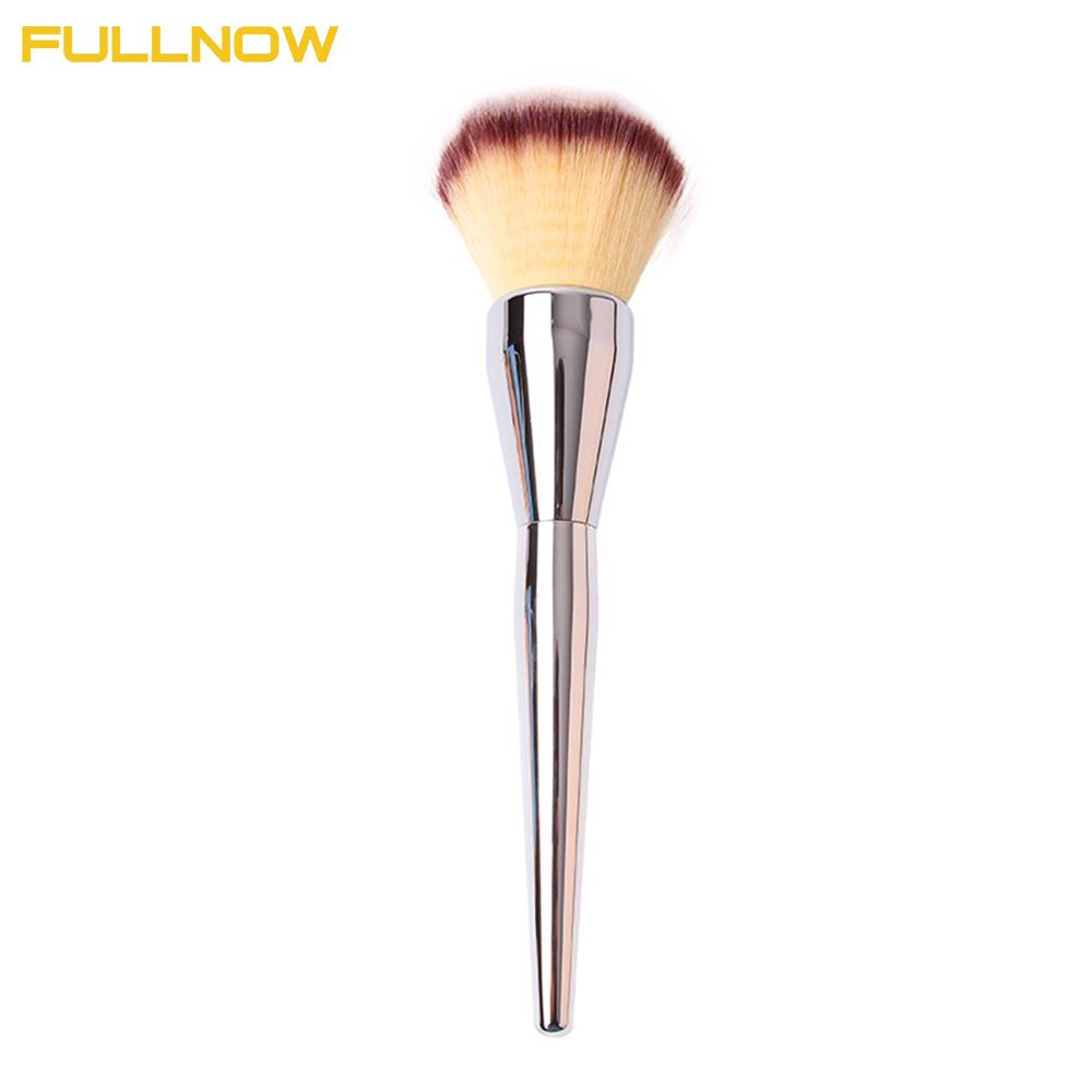 Professional ULTA #211 Beauty Powder Brush Makeup Brushes Blush Foundation Make Up Large Cosmetics Aluminum Brushes Soft Face(China (Mainland))