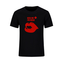 Buy 2 Broke Girls Oleg Short Sleeve T Shirt Men Funny Tee KISS ME I'M IRISH 100% Cotton Cool Streetwear Summer Casual Tops Tees for $9.68 in AliExpress store