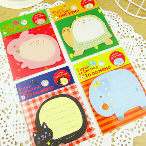 FD2520 New Kawii Animal Sticker Post It Bookmark Index Tab Memo Sticky Notes 1pc(China (Mainland))