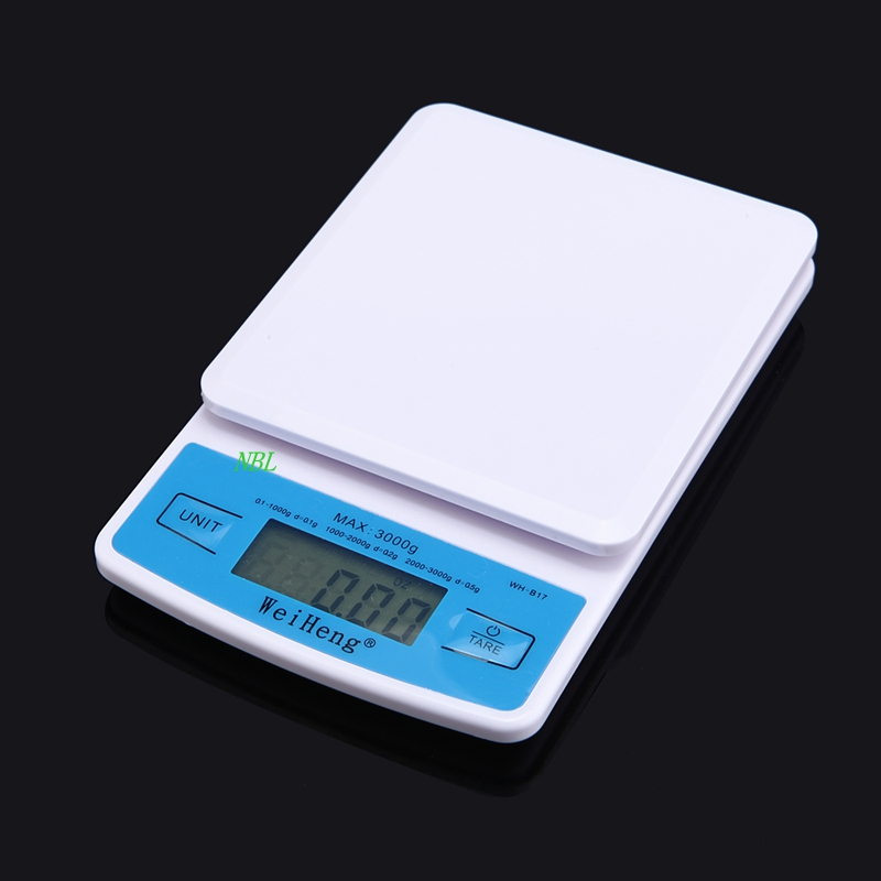HOT!!! Mini 3KG*0.1g Professional Digital Pocket Scale 3000g/0.1g Electronic Scale Kitchen Food Weighing Tool  With Retail Box<br><br>Aliexpress