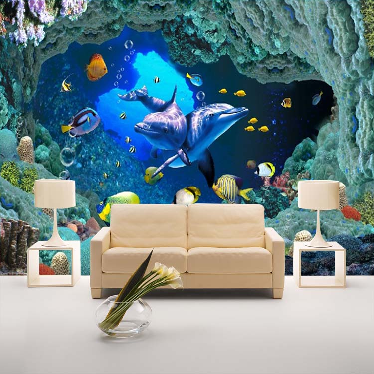 Buy modern fashion 3d wallpaper bedroom tv sofa background for 3d wallpaper for bedroom
