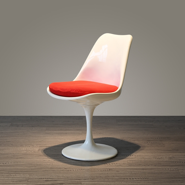 After the promotion of modern North European white ABS single seat backrest rotating creative leisure hotel tulip chair(China (Mainland))