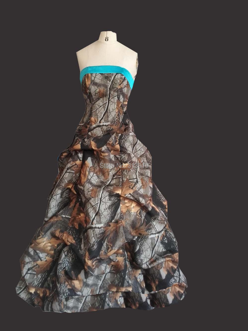 realtree camo prom dresses