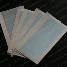 12 шт/лист Синий Лайнер Сильный Двойной Лента для Волос Утка Кожи Парик Расширения Клей T037(China (Mainland))