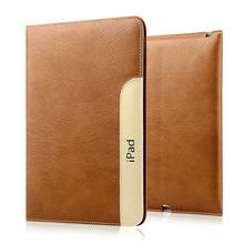Luxury Automatic Wake-Up Sleep Smart Cover Leather Case For iPad Mini 1 2 3, Made Of Top Quality Leather(China (Mainland))