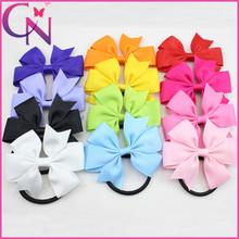 Прекрасный вертушка Hairbows для девочек младенческой малышей небольшой бигуди с резинкой мило Hairbow аксессуары для волос