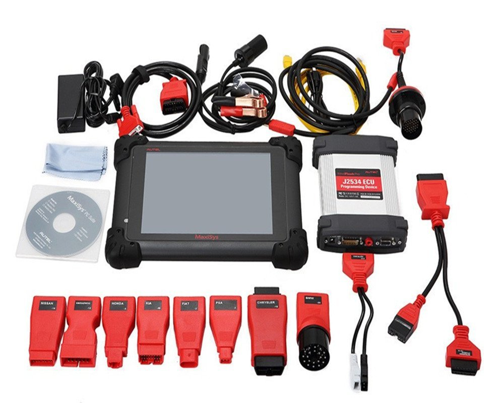 Original Automobiles Scanner AUTEL MaxiSYS MS908 Pro AUTEL MaxiDas Maxisys MS 908 Diagnostic Tool System with WiFi Autel MS908(China (Mainland))
