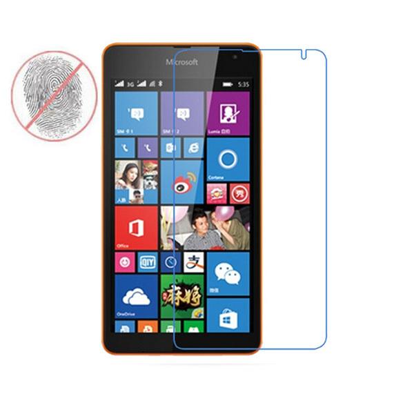 С антибликовым покрытием матовый экран протектор фронт защитная пленка защита для Microsoft Nokia Lumia 535