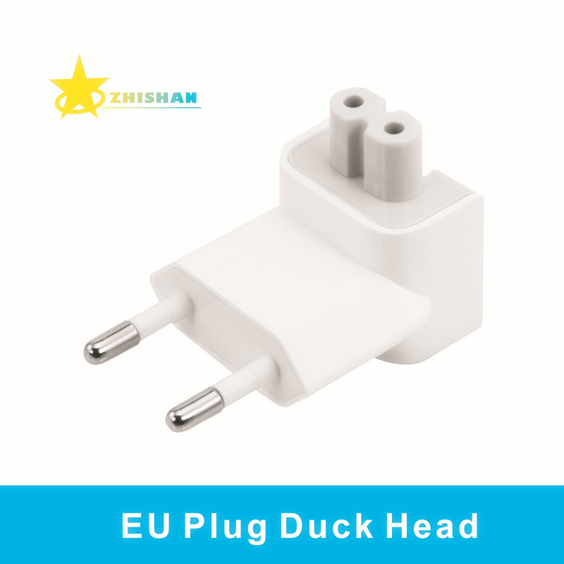 Wall AC Detachable Electrical Euro EU Plug Duck Head for Apple iPad iPhone USB Charger MacBook Power Adapter Free Shipping(China (Mainland))