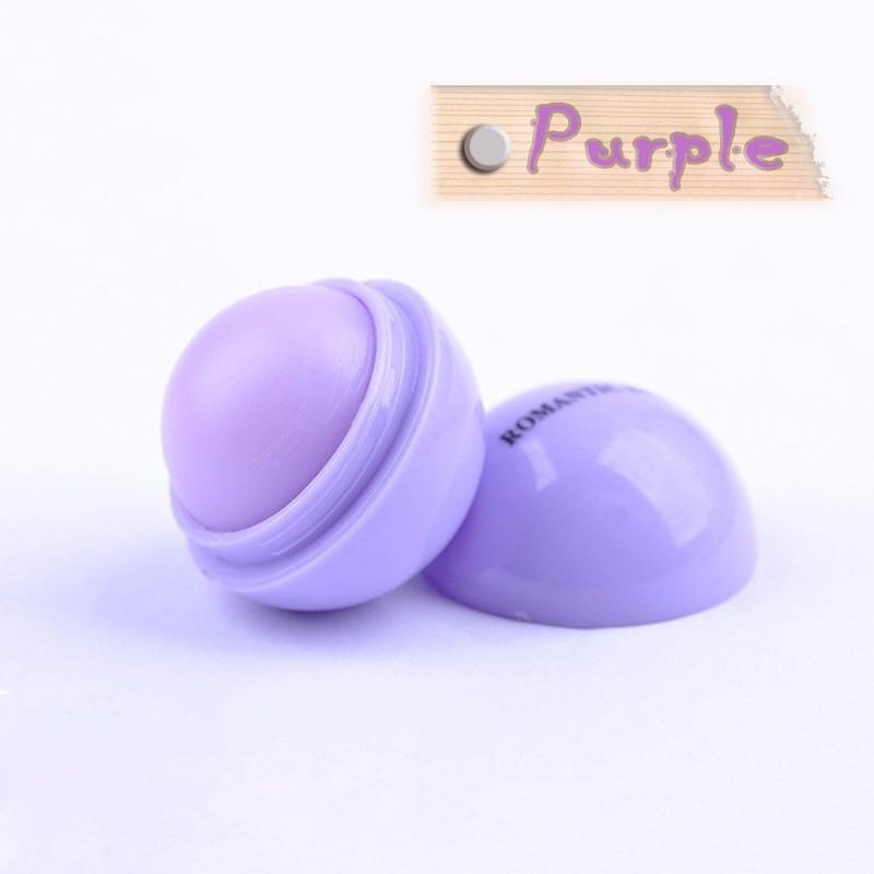 Bola Lip Balm Batom, Protetor Labial Sabor Doce de Frutas Ingredientes Orgânicos Embelezar Lábio Bola Maquiagem Batom Gloss