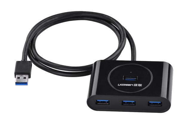 Ugreen 4 Ports Super Speed USB 3.0 HUB Compact Design for your Microsoft Surface, Ultrabooks and Mac Book etc<br><br>Aliexpress