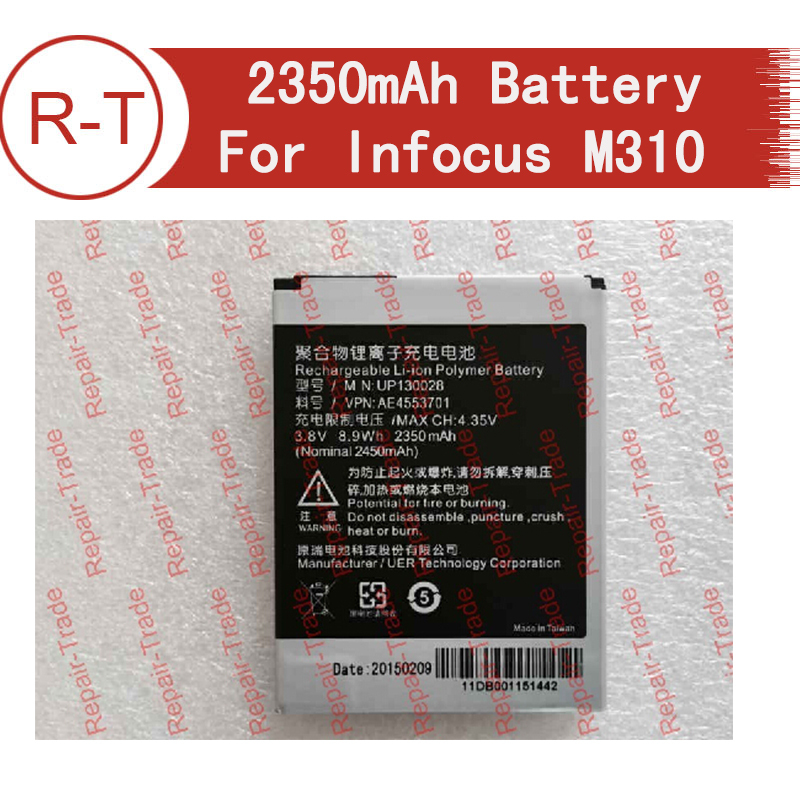 Battry for Infocus M310 2350mAh Li ion Battery replacement For Foxconn InFocus M310 infocus M210 SmartPhone