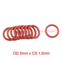 Buy OD 5mm x CS 1.5mm VMQ PVMQ SILICONE Rubber O ring O-ring Oring Seal Gasket for $9.89 in AliExpress store