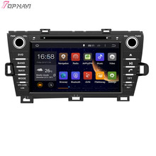 8′ Quad Core Android 5.1 Car Stereo GPS For TOYOTA PRIUS Left Driving 2009- With DVD Radio 16Gb Flash Mirror Link Free Shipping