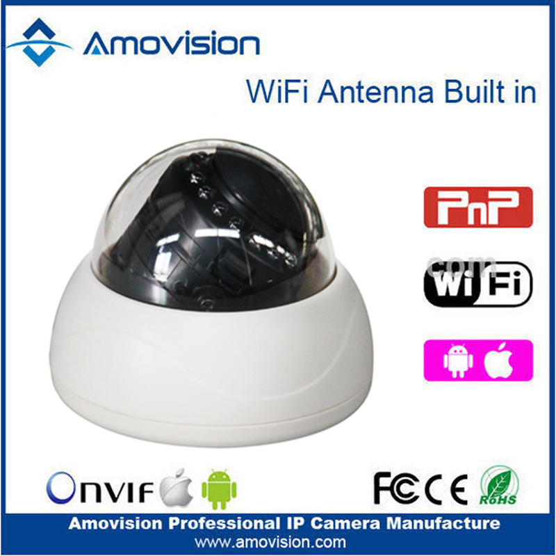 Amovision IP Camera Q643R-WiFi 720P HD 1MP ONVIF Ver. 2.2 Indoor Infrared 10m 3.6mm fixed lens wireless security cctv camera <br><br>Aliexpress
