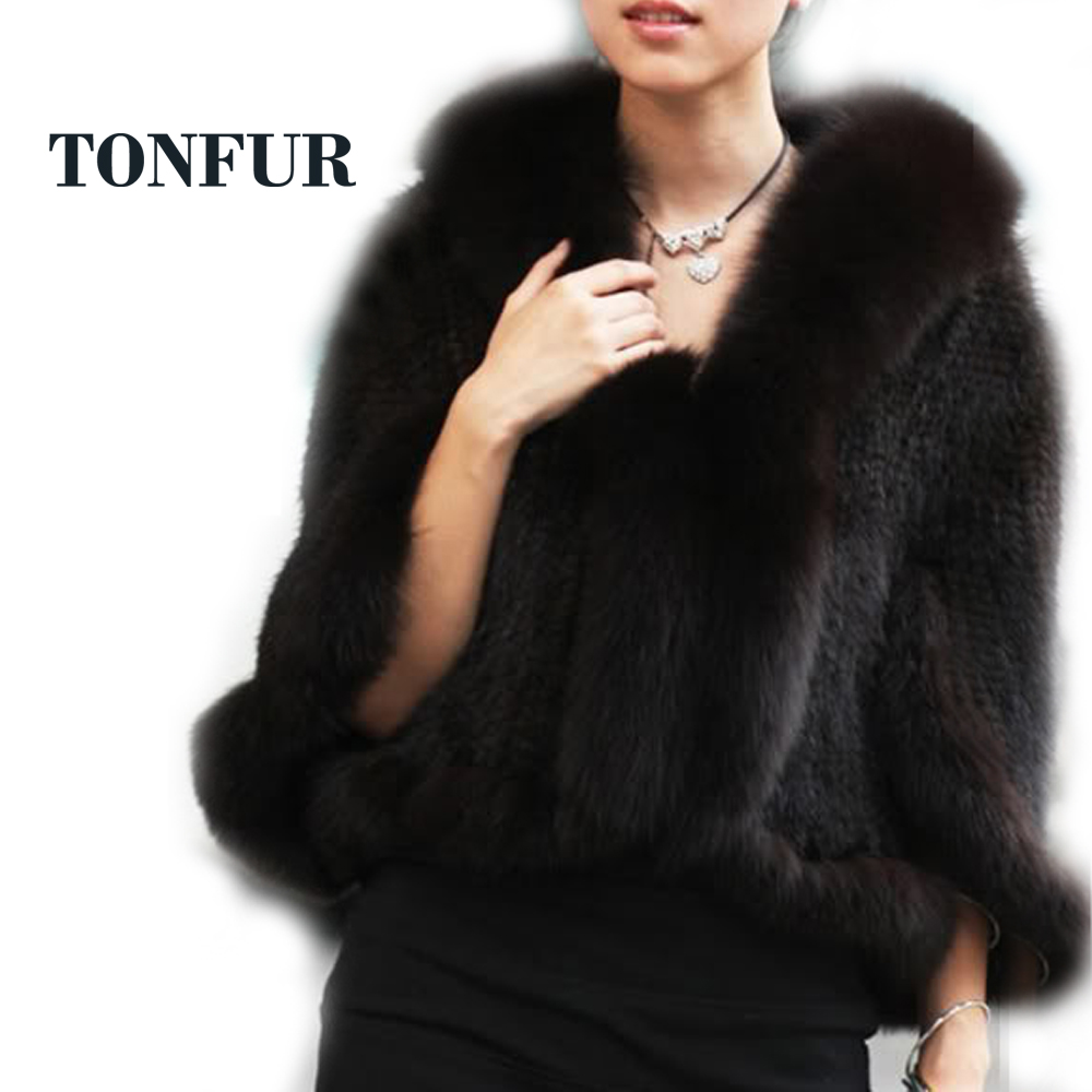 Special offer! Knitted Genuine mink fur Shawl/Scarf women's Unique mink fur phocho New Arrival Free shipping HP137B(China (Mainland))