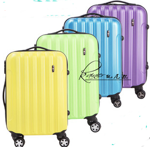 jot-selling universal wheels abs+pc travel suitcase women 20 24 inches suitcases - Fashion Bags Store store