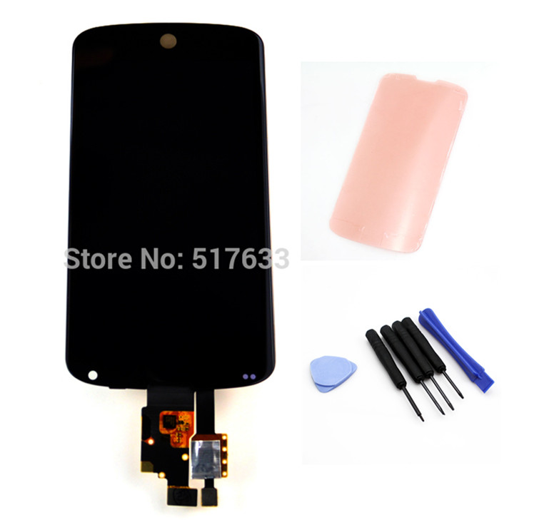 for LG Google Nexus 4 E960 LCD Display Screen Digitizer Touch Screen Glass Panel Assembly Replacements free shipping!!!
