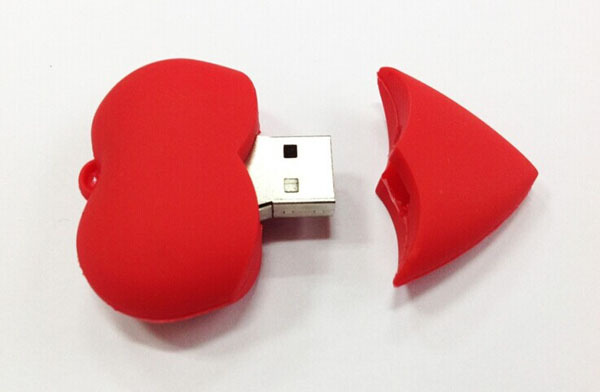 10pcs Free shipping Cool red heart model USB 2.0 Memory Stick Flash pen Drive 4GB 8GB 16GB 32GB 64GB AU0141(China (Mainland))