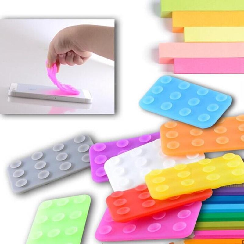 Mobile Phone Anti-Slip Pad Powerful Silica Gel Magic Sticky Pad Anti Slip Mat Car Accessories(China (Mainland))