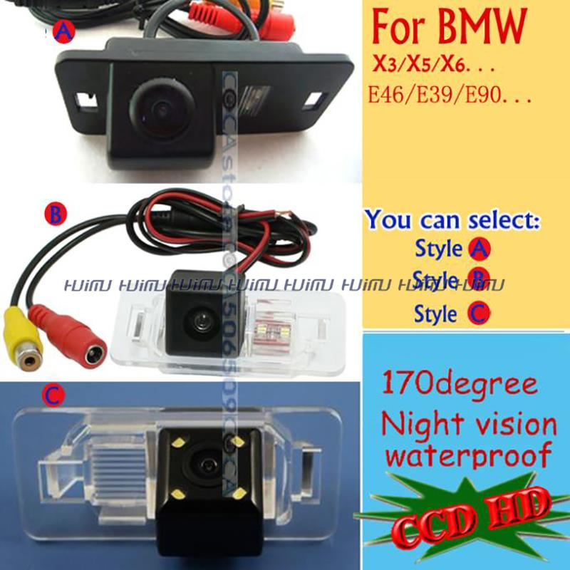 CCD wire wireless Car Rear Camera for BMW E46 330d 323ci 320cd M3 E90 E91 E92 E60 E61 E62 E63 E64 E70 E71 E39 parking assist(China (Mainland))