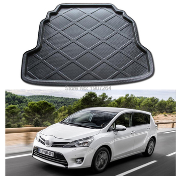1Pcs Car Styling Rear Trunk Tray Liner Cargo Mat Foot Pad Mats For Toyota Verso