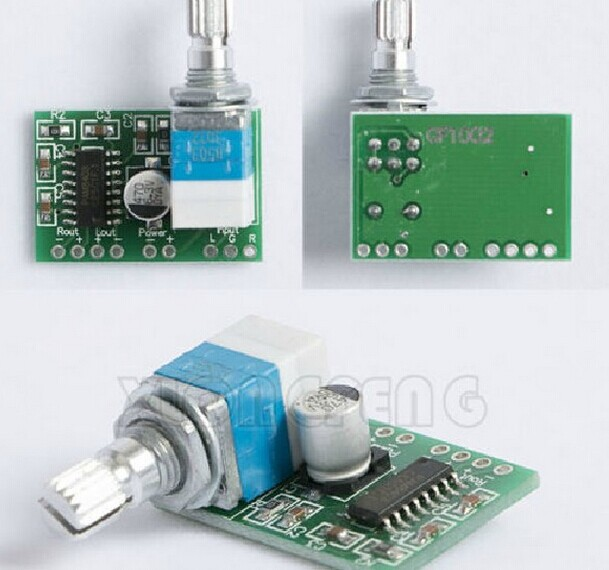 PAM8403 small mini 5 v digital power amplifier board With the switch potentiometer(China (Mainland))