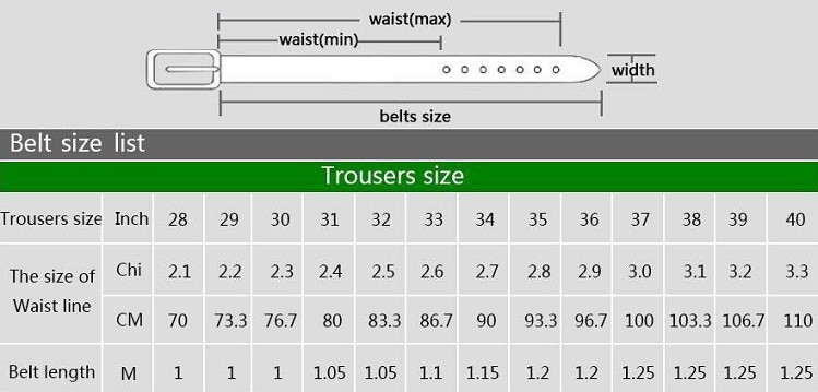 I see a lot of belt tragedies out there in my everyday life. So let's get this settled once and for all and show you what size belt to buy. This will ensure we never have to talk or think about it ever again!