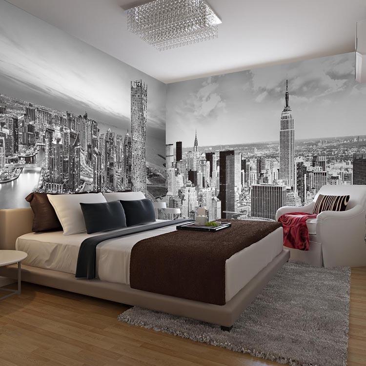 Popular white vinyl sofa buy cheap white vinyl sofa lots for Vinilos pared new york