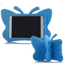 For iPad 2 3 4 3D 3D Cute Butterfly EVA Thick Foam Rugged Child Kids Shockproof Tablet Cover Case Protective Shell Skin