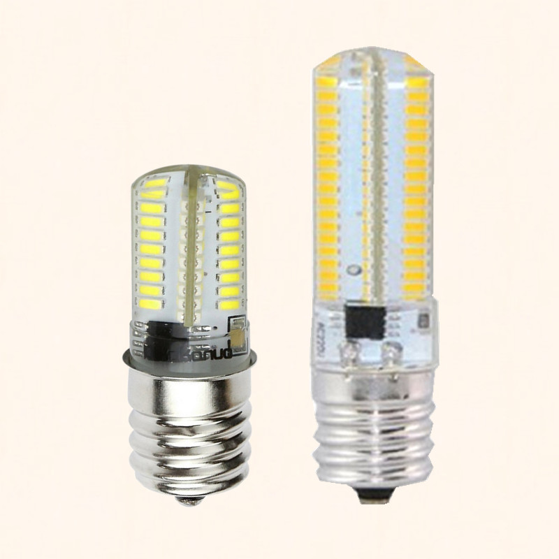 New E17 LED Bulb Microwave Oven Light Dimmable AC 220V 240V 4 Watt 8W lamp 3014SMD 64leds 152leds Appliance Compatible Bulbs(China (Mainland))