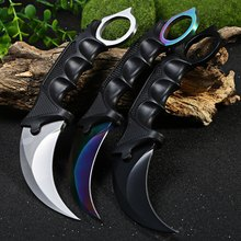 Cool Handmade CS GO Counter Strike Hunting Karambit Knife Survival Tactical Stainless Steel Blade Multi Knife Claw Camping Tools