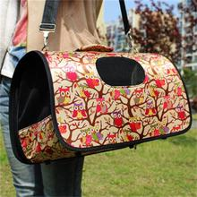 Soft Portable Puppy Dog Cat Tote Carry Carrier House Kennel Pet Cage Travel Bag Free Shipping(China (Mainland))