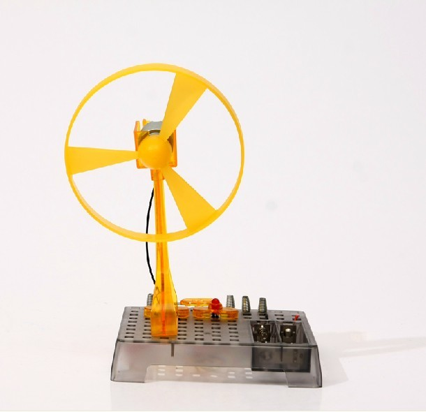 Eastcolight Childrens Educational Toys #28503 Electrical Fan DIY Science Experiment Set   Very funny and simple<br><br>Aliexpress