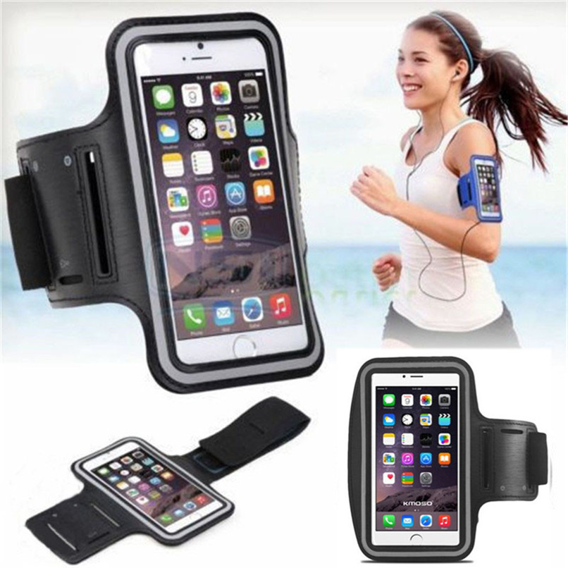 Women Men Waterproof Running Sport Arm Band Leather Case For Samsung S7 S6 S5 S4 S3 A5 For iPhone 6 For LG G1 For HTC M7 M8(China (Mainland))