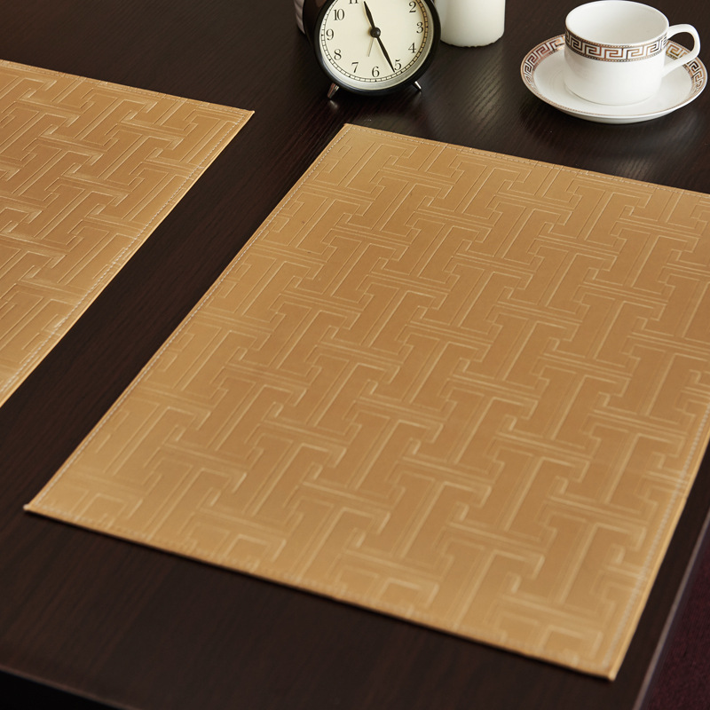 Popular Leather Table Mat Buy Cheap Leather Table Mat Lots From China Leather Table Mat